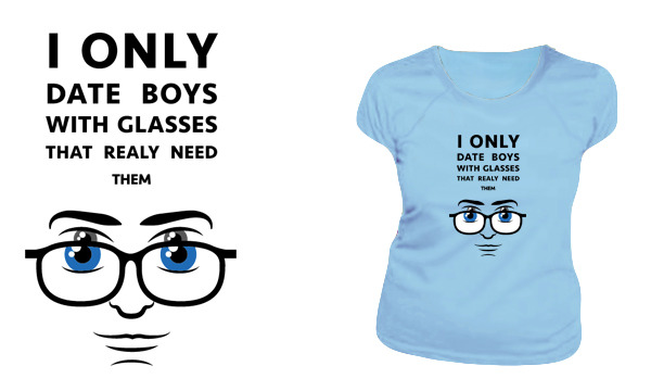 Detail návrhu glasses - damske