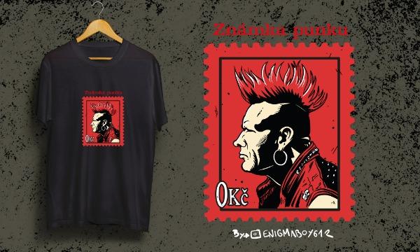 Detail návrhu Známka Punku