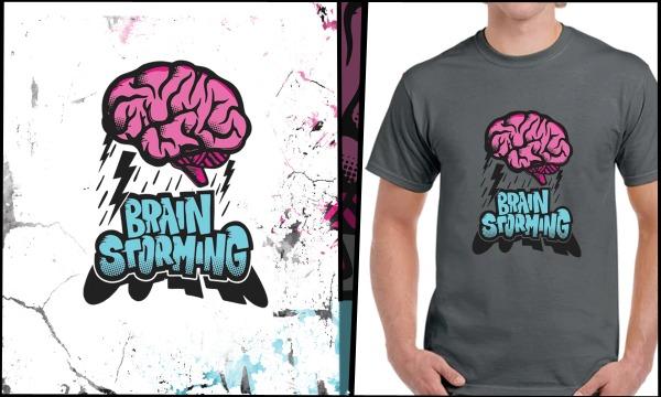 Detail návrhu BrainStorming