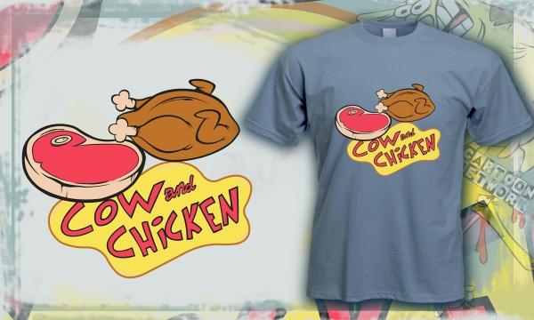 Detail návrhu Cow & Chicken trochu inak