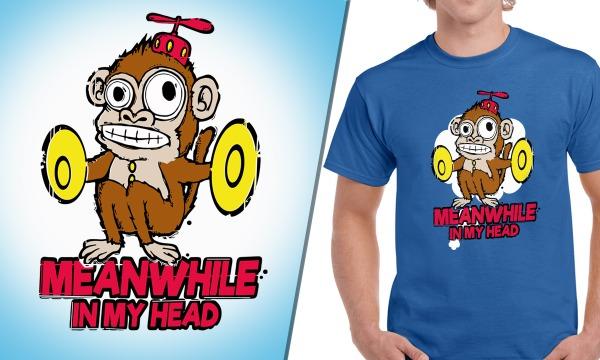 Detail návrhu Creepy Monkey