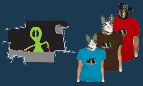 Detail návrhu Alien