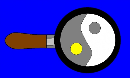 Detail návrhu volské oko