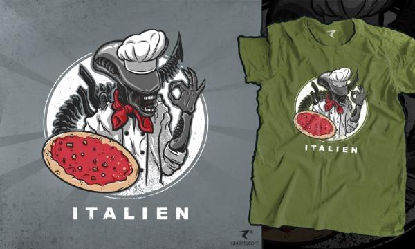 Detail návrhu ITALIEN