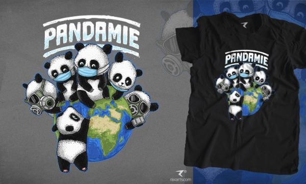 Detail návrhu Pandamie