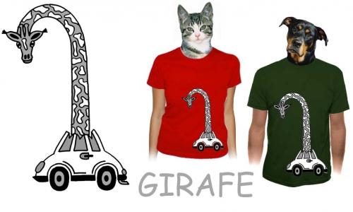 Detail návrhu GIRAFE