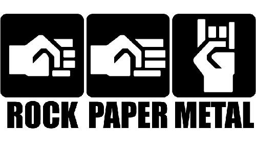 Detail návrhu rock.paper,metal