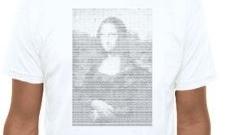 ASCII Mona Lisa