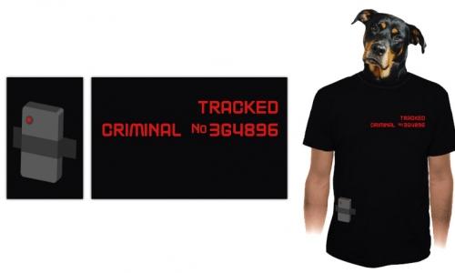 Detail návrhu Tracked criminal