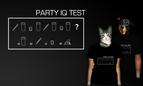 Detail návrhu Party IQ test