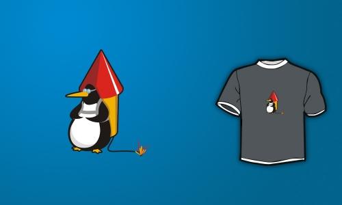 Detail návrhu Penguin can Fly 2