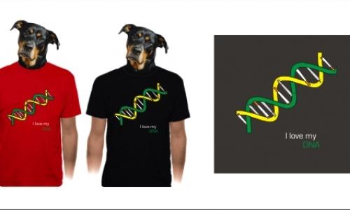 Detail návrhu I love My DNA