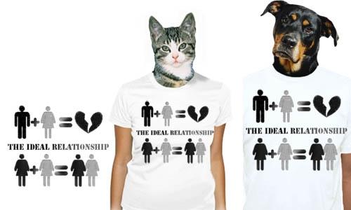 Detail návrhu The ideal relationship