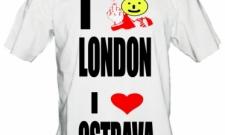 I fuxk LONDON I love OSTRAVA