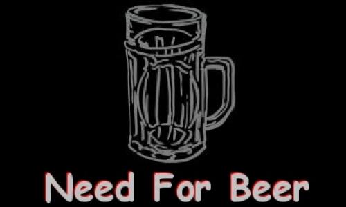 Detail návrhu Need For Beer