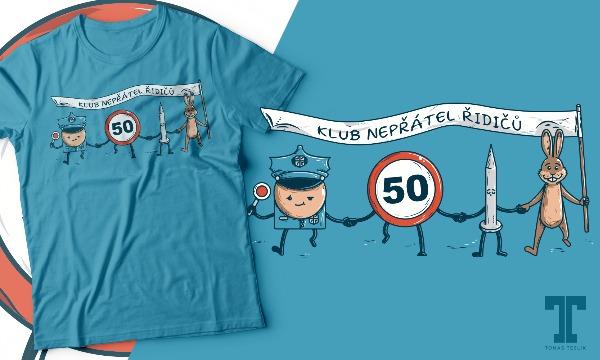 Detail návrhu Klub nepřátel řidičů