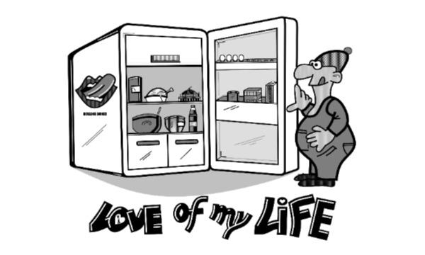 Detail návrhu LOVE OF MY LIFE