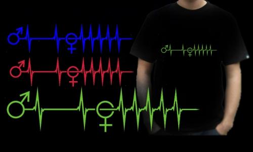 Detail návrhu Love EKG