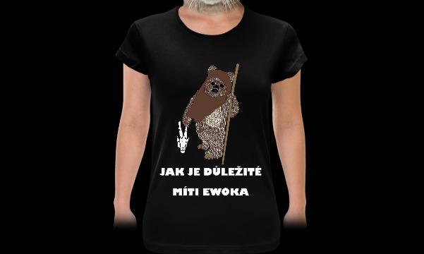 Detail návrhu Jak je důležité míti ewoka