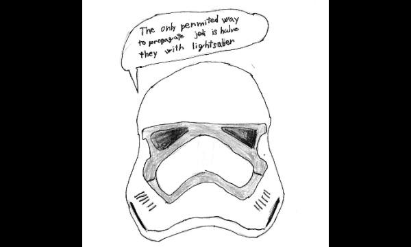 Detail návrhu stormtrooper