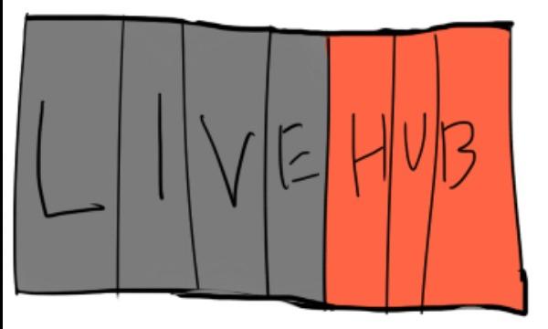 Detail návrhu LIVEHUB