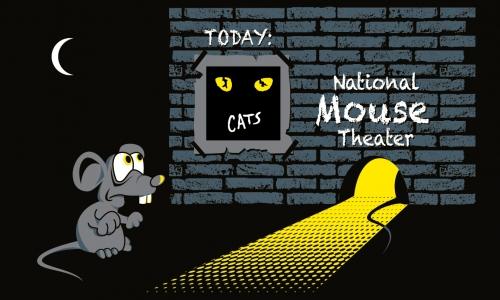 Detail návrhu National Mouse Theater
