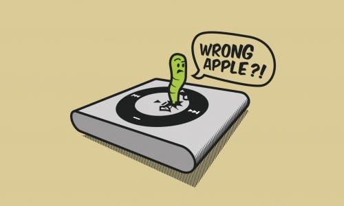 Detail návrhu wrong apple?!
