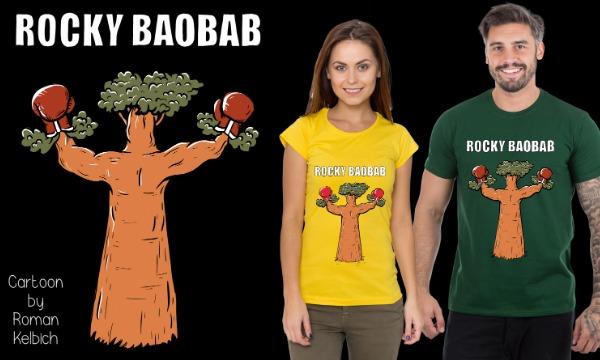 Detail návrhu ROCKY BAOBAB