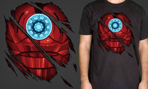 Detail návrhu Ironman inside me