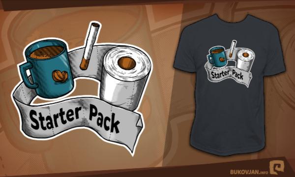 Detail návrhu Starter Pack