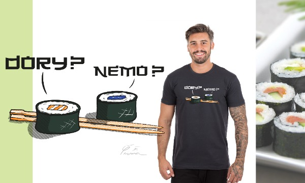 Detail návrhu Hledá se Nemo