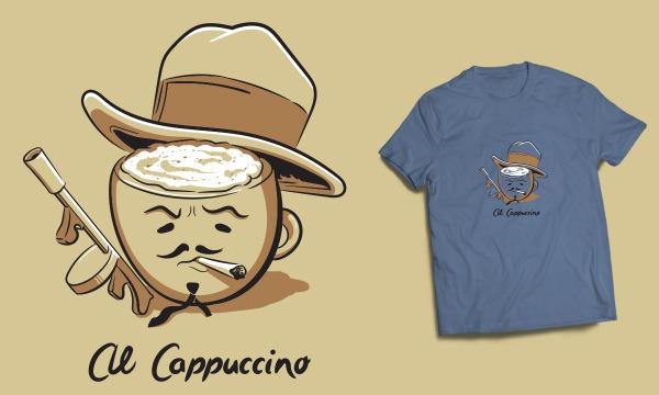 Detail návrhu Al Cappuccino