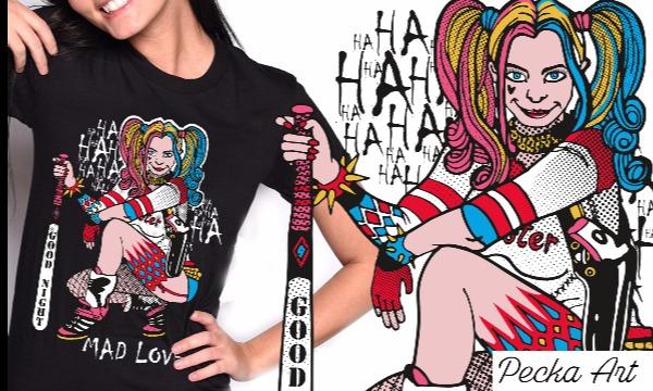 Detail návrhu Harley / MAD LOVE