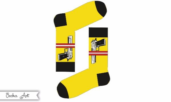 Detail návrhu Návrh na ponožky :)