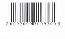 Čárový kód 2009